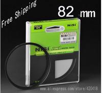 NiSi 82mm Ultra Slim UV Digital SLR Camera Lens Ultra Violet Filter 82mm Super Thin Protector