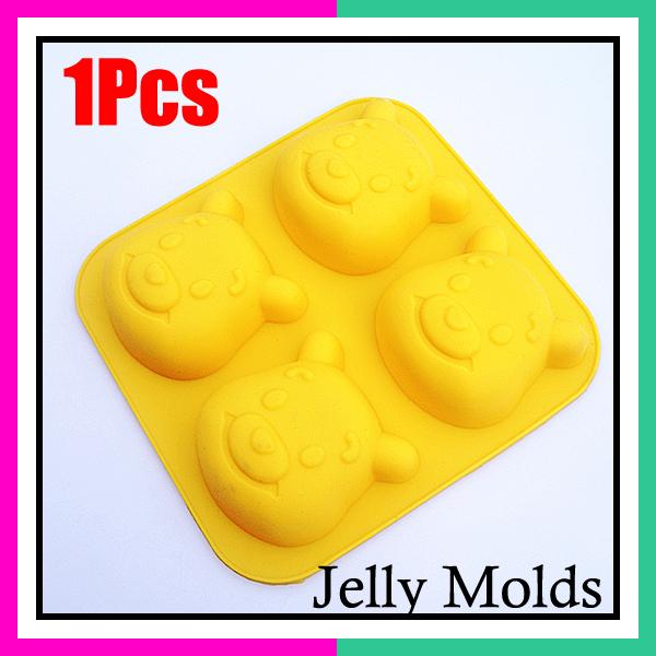 Winnie Urso Jelly pudim de chocolate bolo Sugarcraft Cookie Cutter Set Mold Pan(China (Mainland))