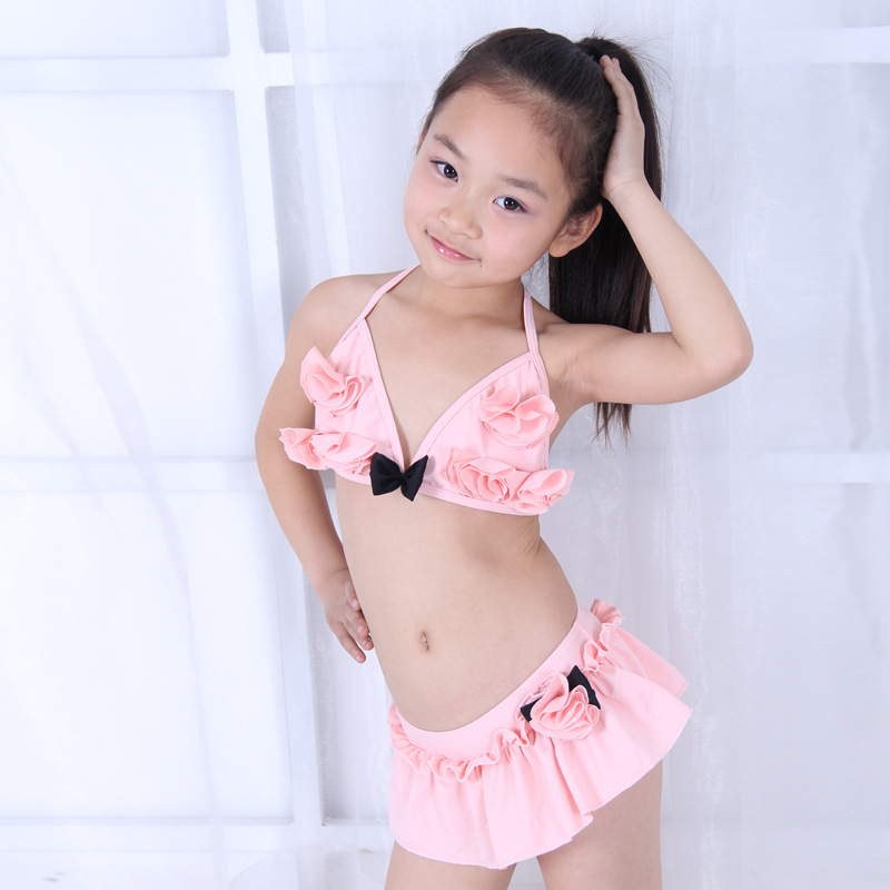 Wholesale-New Sale Swimsuit For 11-18 Years Old Girls Two ...