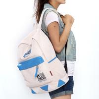 Free shipping Geometry polka dot  school bag casual lovers  travel bag  women backpack pupil backpacks high school bookbag