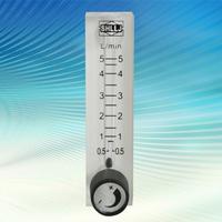 LZQ-6 Oxygen flow meter air rotameter flowmeter gas flow sensor 0.5 - 5L/min