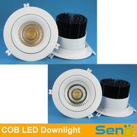 45W 50W 55W Powerful COB LED ceiling downlight  Original Lustrous LED recessed lamp High brightness 100lm/watt 3 Years warranty