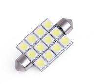 Wholesale Car led festoon light C5w 12 SMD led 3528 31MM Auto led bulbs