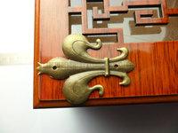 free shipping 100PCS 35mmX50mm bronze color  metal box Corner