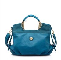 2014 New WeiDi POLO Original Brand Pu Leather Bags For Women Messenger Bags Shoulder Bags Handbag Black Blue Brown Color