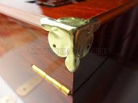 free shipping 100PCS 18mm golden Jewelry Box Corner