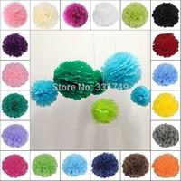 5pcs*14 inches Tissue Paper POMPOMS Flower Balls Home Decor  Festive & Party Supplies Wedding Favors