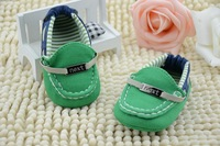 2014 new printing color stitching bow soled shoes baby shoes, children shoes, princess shoes 12.5-14.5cm 5pc/lot
