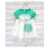 Free shipping 2013 Summer Hot sell baby dress kids wear girls'Princess dress kids clothing Dresses