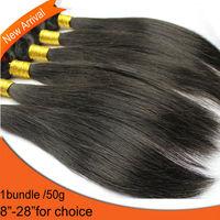 NEW Virgin Remy Brazilian Hair Straight Hair 1bundle Free Shipping