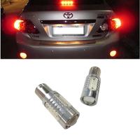 Free Shipping 2 x 1156 High Power 6W Red Car Brake Reverse LED Light for Car 12V