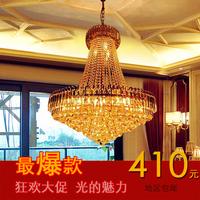 Luxury modern restaurant lights pendant light crystal lamp stair long pendant light living room crystal lamp large pendant light