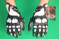 Brand New with tag MOTO GP PRO S1 Glove SHORT SUMMER MOTORCYCLE LEATHER SPORT RACE Protective GLOVES Black/Blue/Red/White color