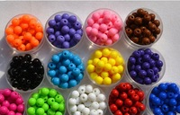 good quality 20mm mix color necklace bracelet DIY jewelry Big Chunky Gumball Bubblegum Acrylic Solid Beads by shipping free