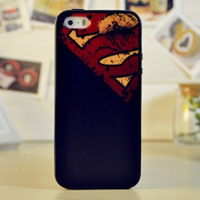 Fashion Superman TPU Soft Case Cover for apple i phone 5 5s Back Cover for iphone 5s phone case