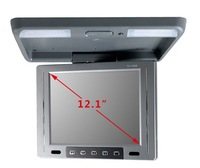 roof car rearview monitor 12.1 -inch ultra-thin high shock av display suction a top quality CL - 1218