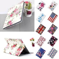 Latest Leather 360 Degree Rotating Case Cover Stand For APPLE iPad AIR iPad 5 2014 New Free shipping
