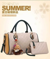 2014 new spring and summer PU Leather Single shoulder women messenger bags