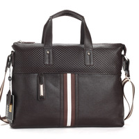 2013 men stylish handbags,fashion genuine leather messenger bags,brand name one shoulder bag,casual business laptop bag #325