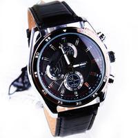 Fashion leather Strap Quartz Men  watch  ,Men Dress Wrist watch , 30M Waterproof  158975