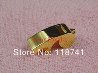 50 pcs Metal Gift Keychain Referee Coach Whistle Keyring Beer Bottle Opener Custom Logo gold kirsite opener Children's whistle