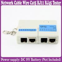 5 pcs/Lot_Mini Network Cable Wire Cat5 RJ11 RJ45 Tester
