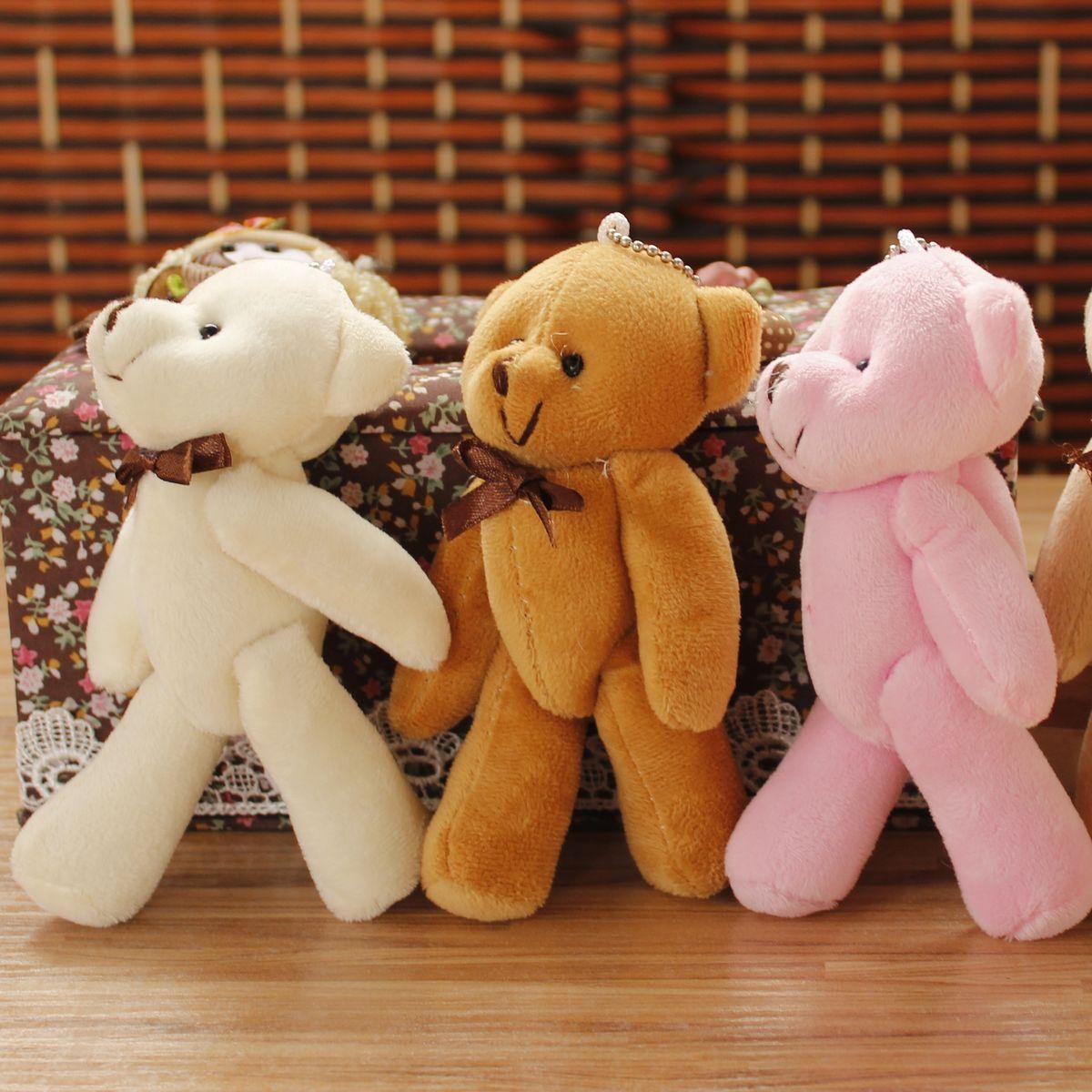 Small doll pendant teddy bear bags accessories wedding doll keychain dolls(China (Mainland))