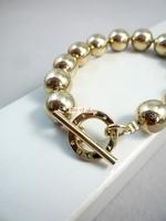 Oem bracelet crafts original solid beads silver