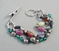 Bracelet material mix match