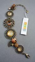 Bracelet bohm vintage gold material mix match quality