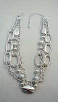 For nec  klace quality silver pd quality pearl