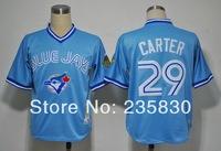 COOL base baseball Toronto Blue Jays #29 Joe Carter American baseball jersey best quality standard US size48-56