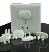 baby safety socket set 2 hole socket protective cover 100pcs/lot