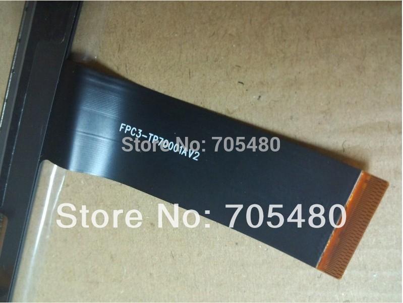 "Goods in stock! Touch Screen Replacement For 7"" Freelander PD10 3G MTK6575 MTK6577 PD20 3G TV Tablet PC FPC3-TP70001AV2(Hong Kong)"