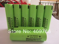 10PCS/LOT New Original 18650 3.7V 2200mAh Rechargeable Lithium Battery (CGR18650CG) Batteries Free Shipping