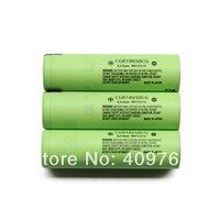 100PCS/LOT New Original 18650 3.7V 2200mAh Rechargeable Lithium Battery (CGR18650CG) Batteries EMS Free Shipping