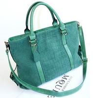 New Women's handbag bags fashionable casual genuine leather nubuck leather shoulder bag messenger bag female handbag