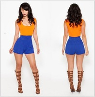 2014 New Fashion Sexy Empire Rompers Womens Jumpsuit Short Mini Bandage Party Sexy Bodysuit  Hot Selling Jumpsuits Rompers