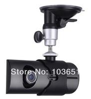 """2pcs/lot Original X3000 2.7 """"LCD Wide Angle Dual Cameras Car Camera  GPS Logger dvr"""