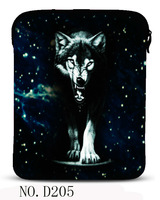 Black wolf  Sleeve Bag Case Cover Pouch For iPad 1st 2nd 3 3rd 4 4th Generation