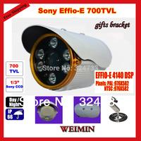 """NEW  HD 700TVL 1/3"""" Sony Effio CCD 100 meters Array IR  outdoor Color night IP66 waterproof Security video CCTV cameras"""