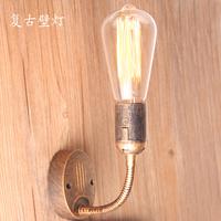 Vintage fashion brief wall lamp tieyi bed-lighting single-head aisle lights