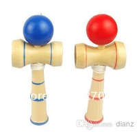Children Educational Toy Funny Bahama Traditional 14CM Wood Game Skill Kendama Ball GIFT very good  traditional