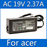 19V 2.37A 3.0x1.1mm AC Power Adapter ADP-45ZD B laptop charger For Acer Travelmate X313 S3 S5 S7Free shipping