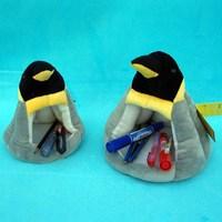 Plush toy emperor penguin storage 12 pen doll gift