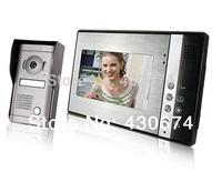 """7"""" TFT Color Display Wired Video Door Phone Doorbell Intercom Kit"""