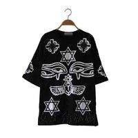 2014 women's HARAJUKU ktz bigbang gd five-pointed star lovers t-shirt