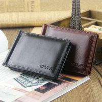 2014 new men's wallet purse Multifunction wallets