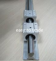 1 set SBR16-750mm FULLY SUPPORTED LINEAR RAIL cnc + 1 pcs SBR16UU  bearing block