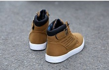 2014 New Zapatos de Hombre Mens Fashion Spring Autumn Leather Shoes Street Men s Casual Fashion